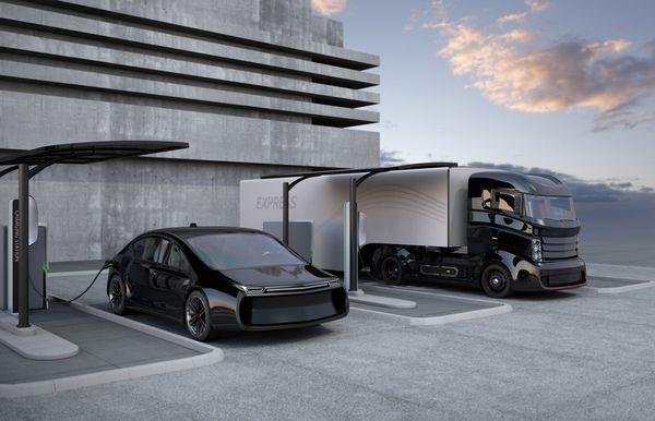 hybrid-truck